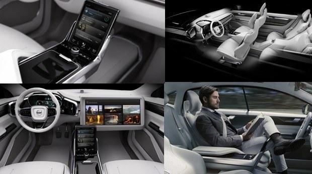volvo reveal self drive car concept concept 26. Black Bedroom Furniture Sets. Home Design Ideas