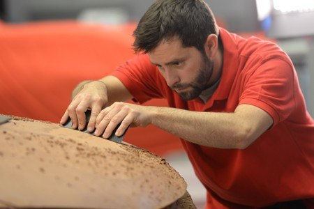 Creating a clay model when designing a new SEAT