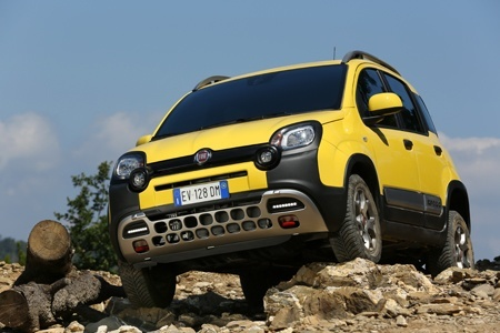 The new FIAT Panda Cross is at home both on- and off-road