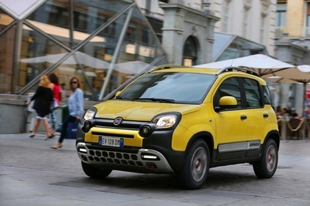 The new FIAT Panda Cross will turn heads in the street