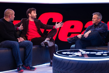 David Tennant guests on Top Gear