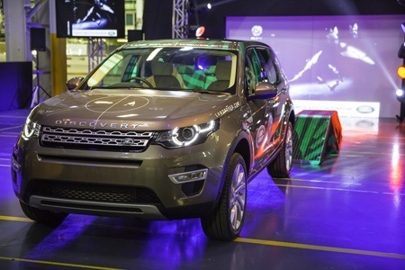 Tthe first production Land Rover Discovery Sport