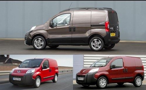 Examples of compact vans