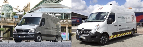 Examples of Large vans