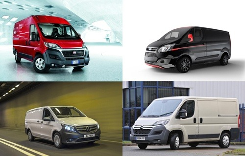 Examples of medium to large vans