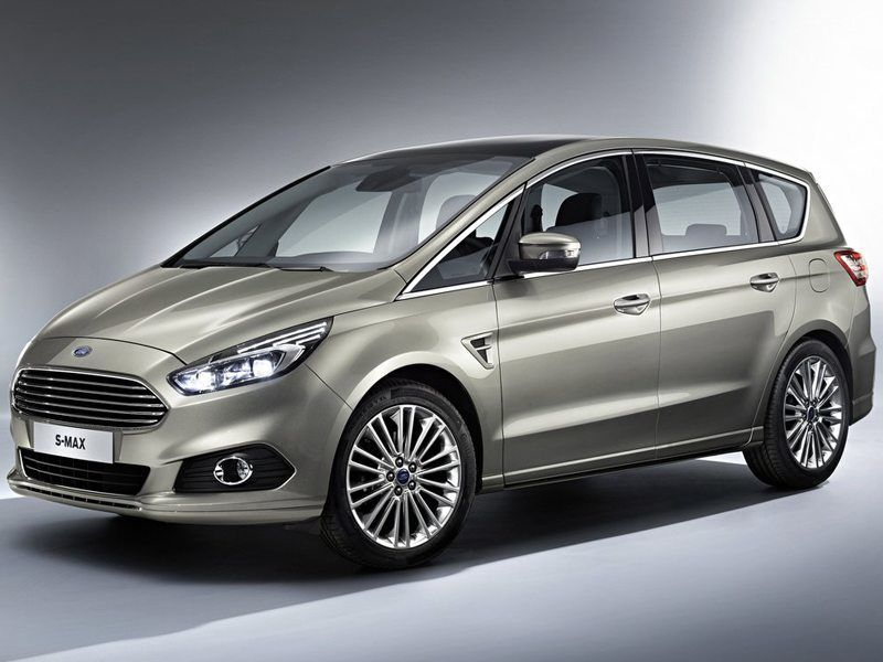 Ford S-MAX Silver Exterior Side