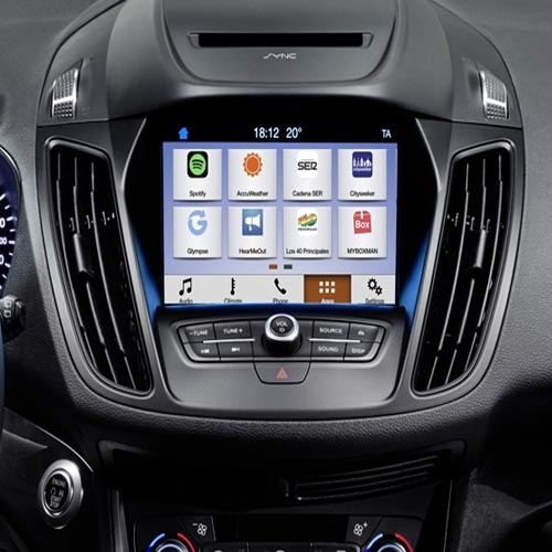 ford sync 3 comes to europe. Black Bedroom Furniture Sets. Home Design Ideas