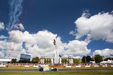 Goodwood Festival of Speed 2015 Record Crowds