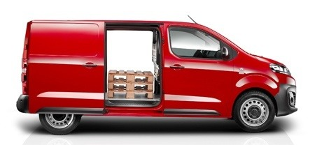 Hands free sliding doors on the new Citroen Dispatch