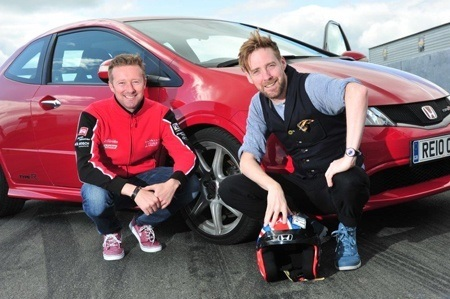 Honda Civic R-Type and Ricky Wilson