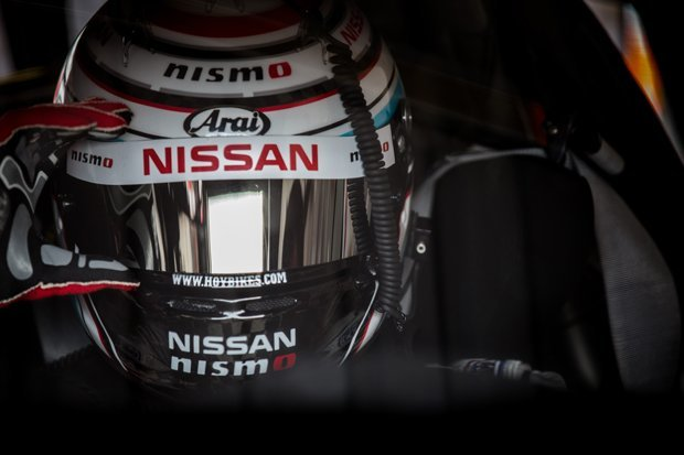 Sir Chris Hoy prepares for another race for Nissan
