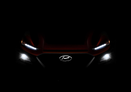 Hyundai tease their new KONA with revealed image