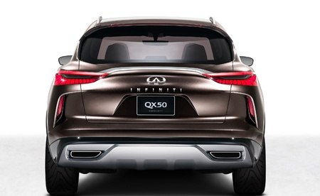 Infiniti QX50 Concept  Rear View