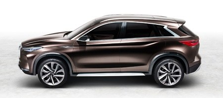 Infiniti QX50 Concept  Side View