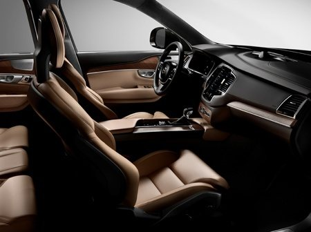 Interior of the all-new Volvo XC90