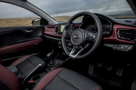 Kia Rio First Edition 1.0 T-GDi interior