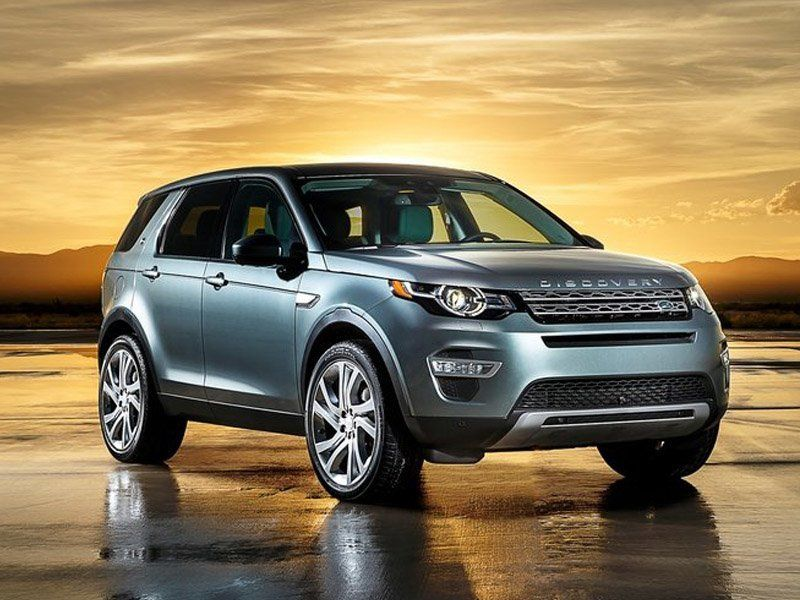 Land Rover Discovery Sport Silver Exterior Front