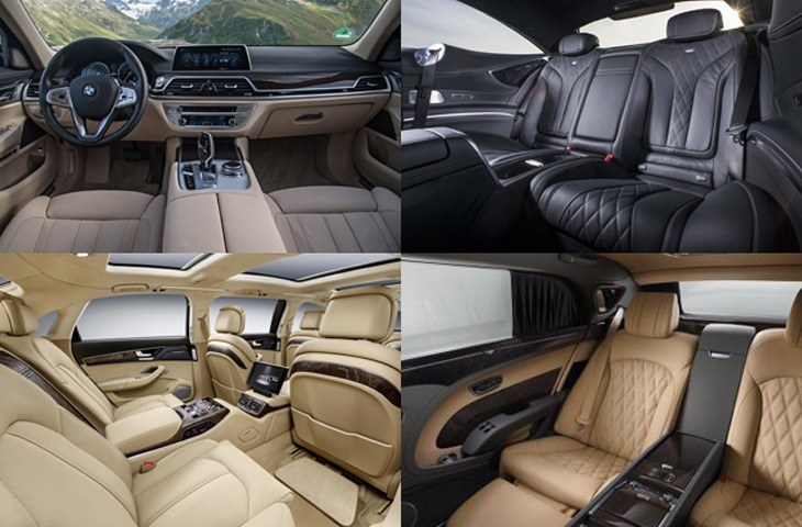 Luxurious Interiors in cars