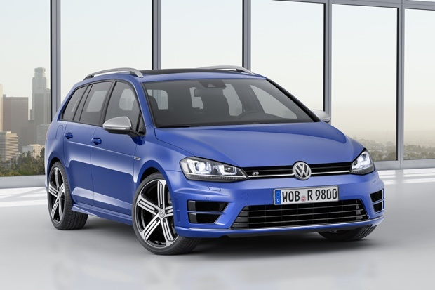 New Volkswagen Golf R Estate Unveiled In Los Angeles