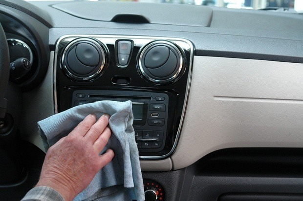 How to clean a car interior