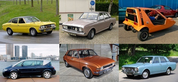 Just some of the cars nearly extinct according to CarCountUK on WeLoveAnyCar.com