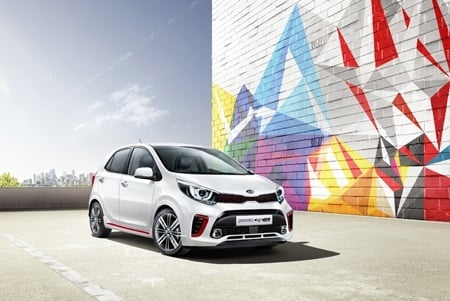 New 2017 Kia Picanto Front View
