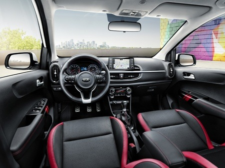 New 2017 Kia Picanto Interior