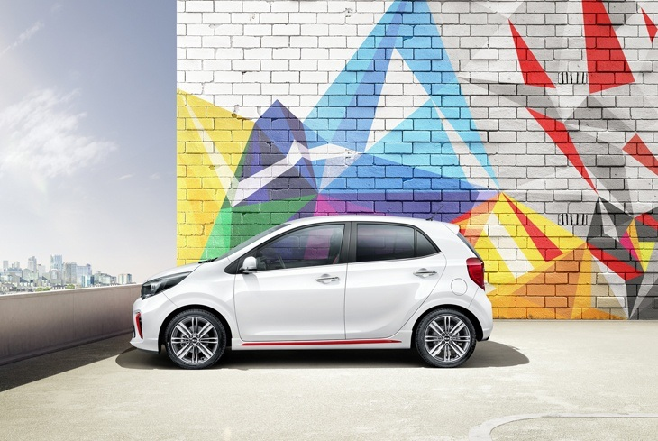 New 2017 Kia Picanto Side View