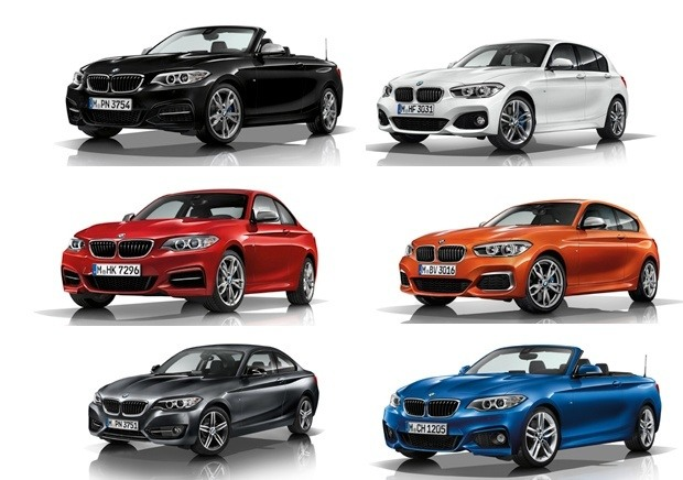 The New 2017 range from BMW