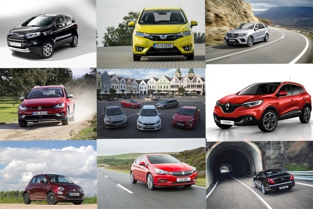A selection of new Cars available for Leasing 2015