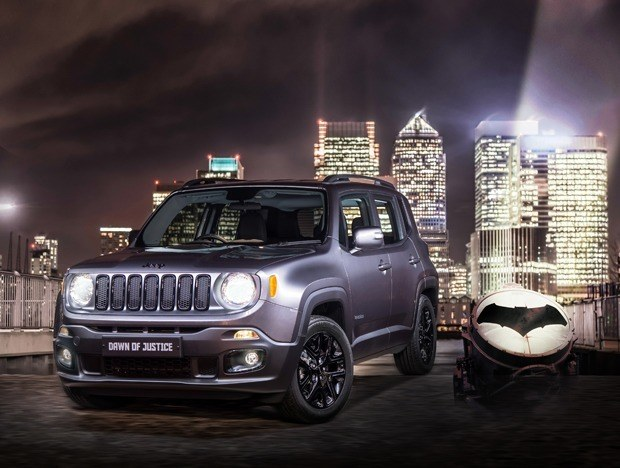New Limited Edition Jeep Renegade Launched to Coincide with Batman v Superman film Dawn of Justice