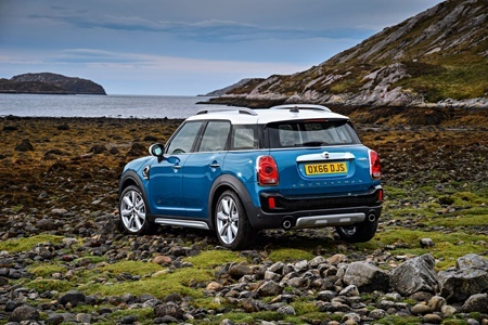 New MINI Countryman Rear View