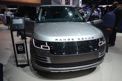 New Range Rover 2018 front view