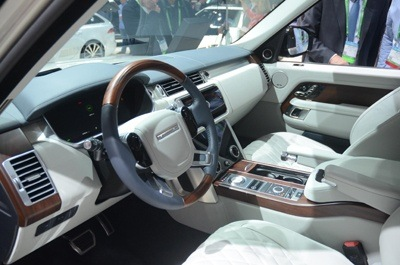 New Range Rover 2018 interior
