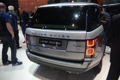 New Range Rover 2018 rear