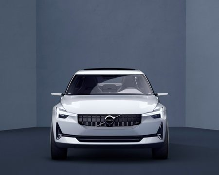 New Volvo Series 40 Concept Front On View