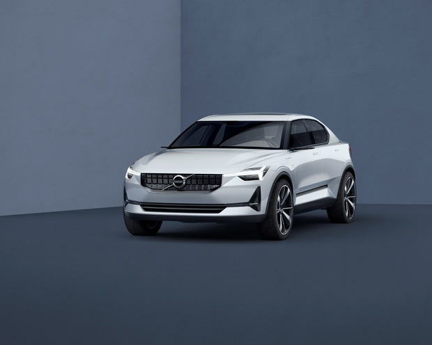 New Volvo Series 40 Concept Front View 2