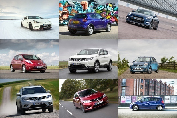 Nissan Cars available to lease from Nationwide Vehicle Contracts