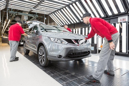 Nissan Qashqai in Production