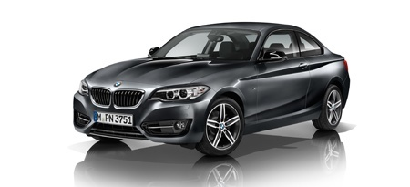 The updated 2 Series from BMW