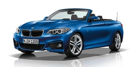 The 2017 updated 2 Series convertible