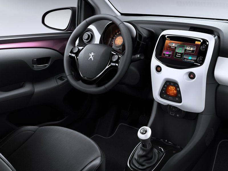 Peugeot 108 1.2 PureTech Allure 5 Door | Car Leasing | Nationwide ...