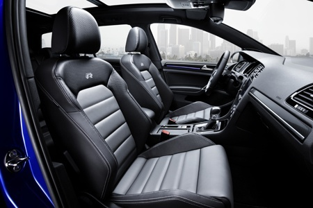 Inside the new Golf R Estate on the road