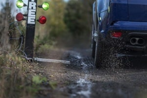 Range Rover Sport TVR on mud