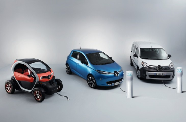 Renault ZOE Arrives in the UK with 250 Mile Range
