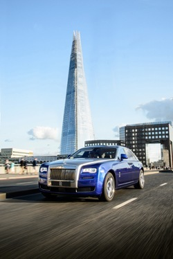 Rolls-Royce on the road