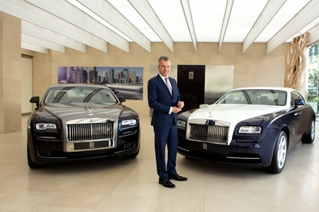 Rolls-Royce Motor Cars has revealed record sales results