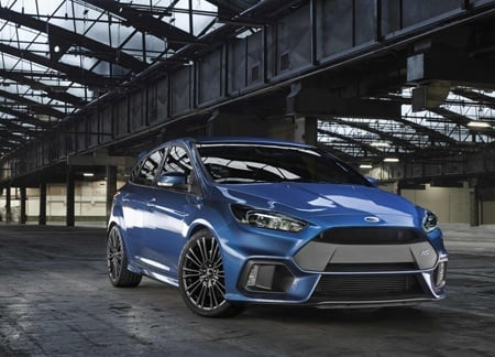 New Ford Focus RS Front view