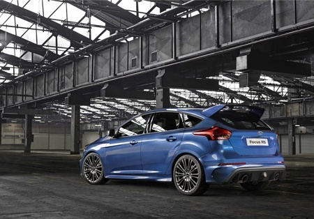 New Ford Focus RS Rear view