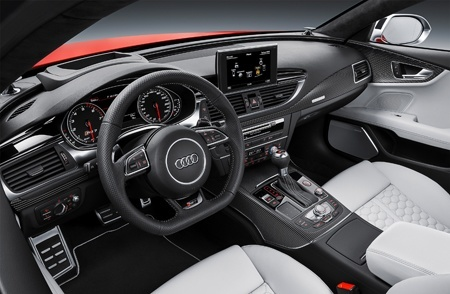 The new RS 7 Sportback has a revised interior